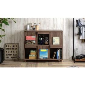 ネフラス ディスプレイラック(120cm幅) ライフスタイル 収納用品・収納家具 収納ケース・ボックス - 選択してください - ホワイト ブラウン au WALLET Market