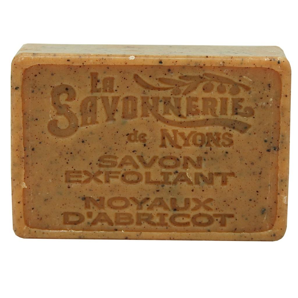 La Savonnerie De Nyons 法霓恩 經典植粒去角質皂 甜柔杏桃核仁粒 100g