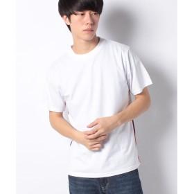【60%OFF】 ナノ・ユニバース :オーガニックサイドテープTシャツSS メンズ ホワイト S 【nano・universe】 【セール開催中】