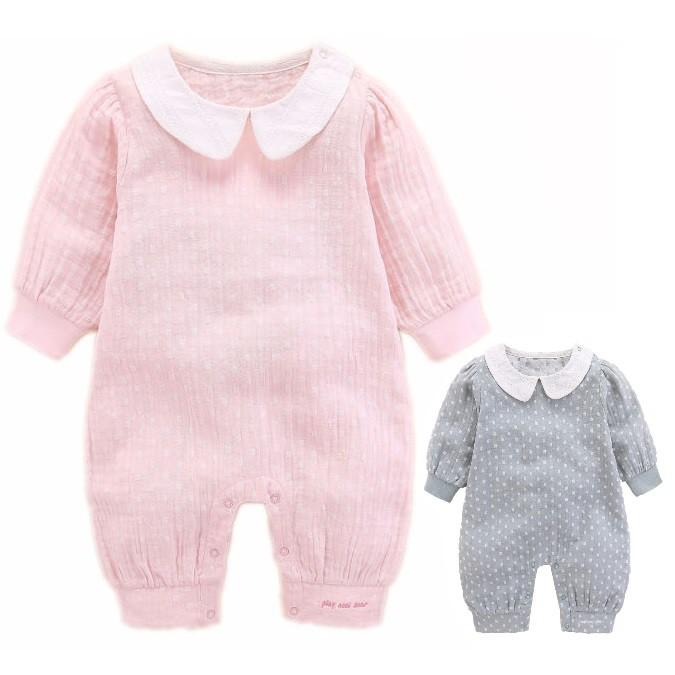 嬰幼兒甜美可愛圓點連身兔裝 連身裝 包屁衣 哈衣【蘋果小舖】(SO) 1908 A75