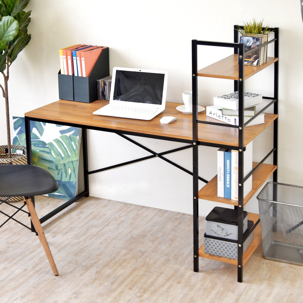 HOPMA 加深款日系層架工作桌/雙向桌 E-S1600