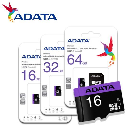 威剛 ADATA 16G 32G 64G micro SDHC SDXC UHS-I CLASS10 U1 記憶卡