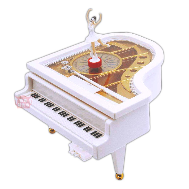 旋轉女孩鋼琴上鏈音樂盒 芭蕾舞女孩鋼琴音樂盒 旋轉音樂盒 生日/畢業/情人節/聖誕節禮物 附發票【賣貴請告知】