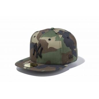 NEW ERA ニューエラ 59FIFTY ニューヨーク・ヤンキース ウッドランドカモ × ブラック ベースボールキャップ キャップ 帽子 メンズ レディース 7 (55.8cm) 12336658 NEWERA