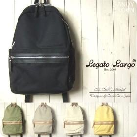 レガートラルゴ Legato Largo 撥水加工キャンバス素材の10ポケットリュック