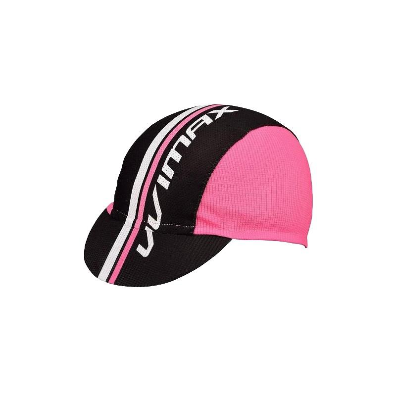 VIVIMAX 自行車單車小帽 單車遮陽防曬小帽(粉紅)[09001190]【飛輪單車】