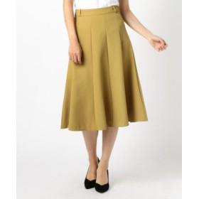 (MEW'S REFINED CLOTHES/ミューズ リファインド クローズ)10枚ハギスカート/レディース マスタード
