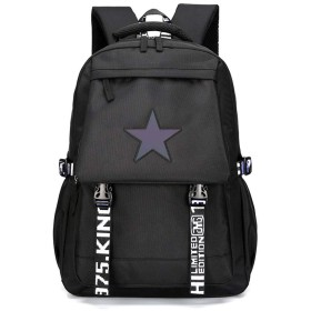 男性と女性大容量防水ナイロン布バッグ軽量アウトドアトラベルバッグ登山バッグファッションバックパックコンピュータバックパック学生バッグ