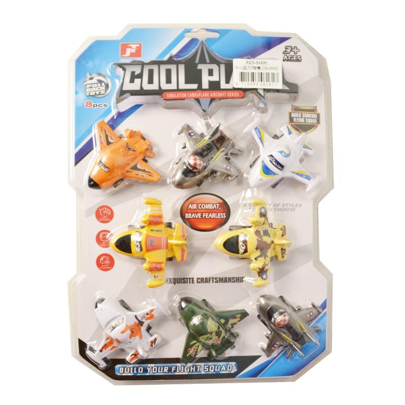 8入迴力飛機 玩具反斗城