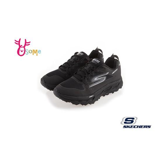 Skechers運動鞋 男鞋 GO TRAIL ULTRA 防潑水運動鞋 足弓 慢跑鞋S8222 黑色OSOME奧森鞋業