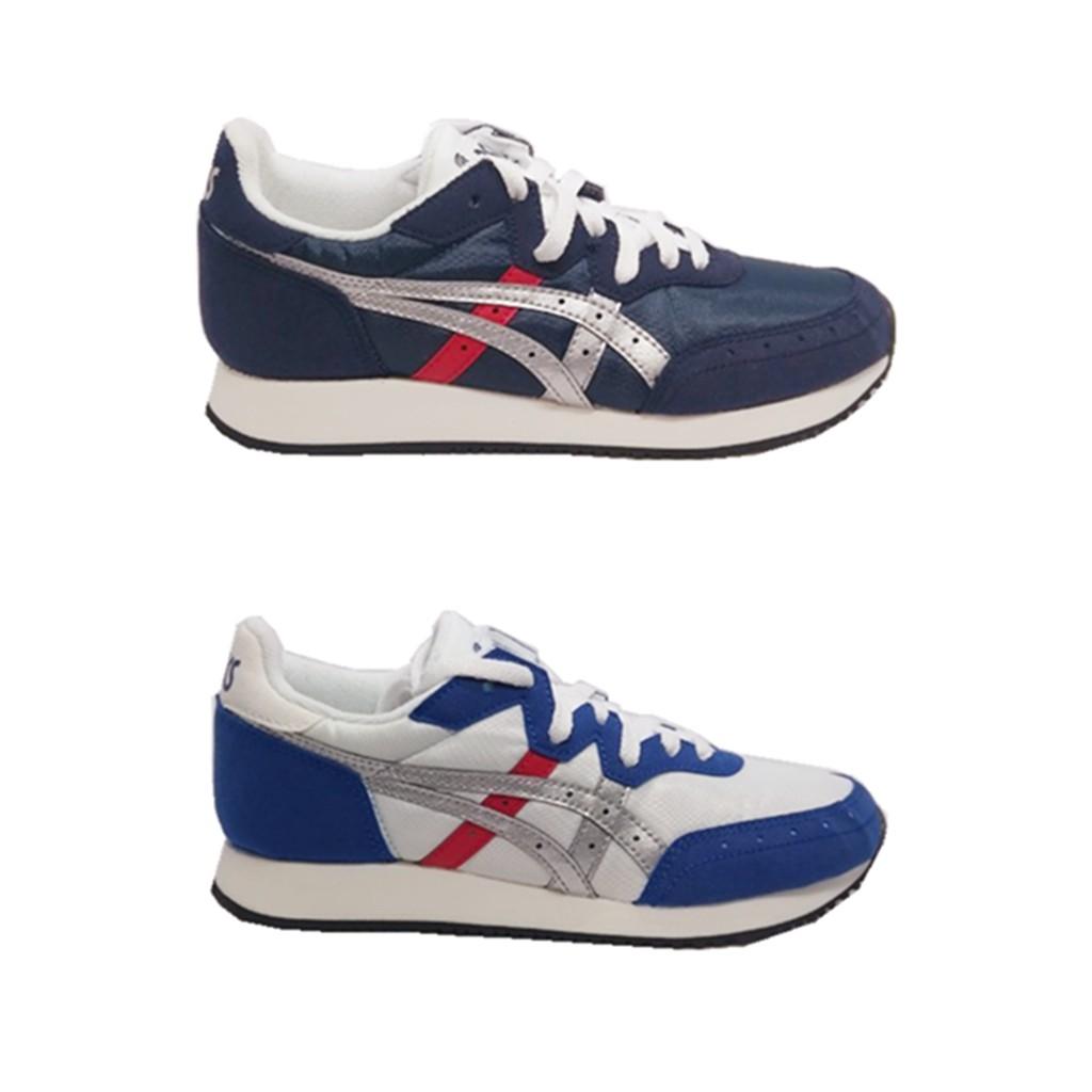 亞瑟士Asics TARTHER OG 女休閒慢跑鞋 阿甘鞋 正品公司貨 216-1192146 白藍 深藍