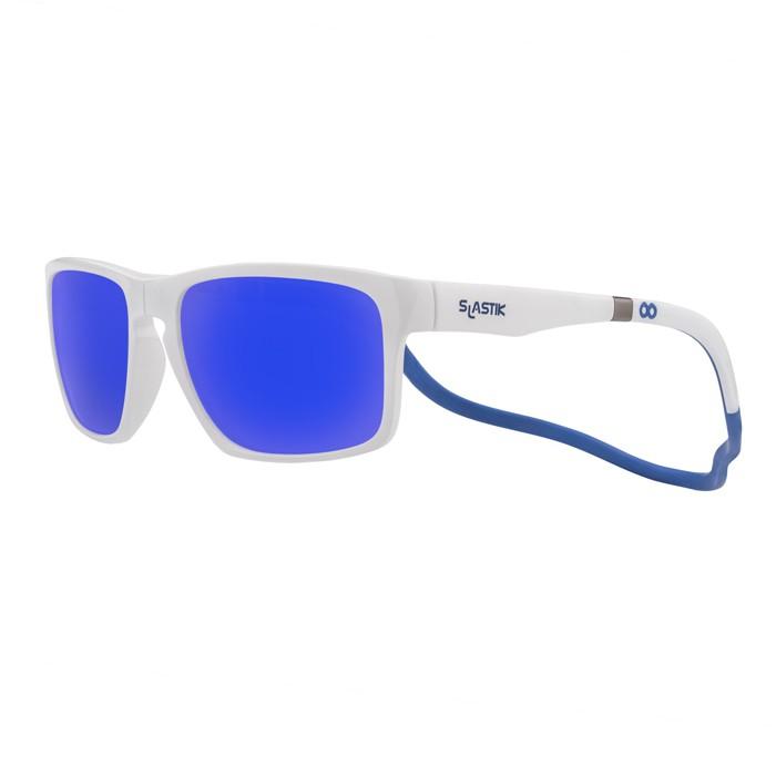 SLASTIK LOFT FIT WAHINE 前扣式魅力舒適偏光眼鏡 太陽眼鏡 墨鏡 白/藍 SL-LF-F-003