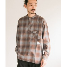 URBAN RESEARCH(アーバンリサーチ) トップス シャツ・ブラウス and wander thermonel chk band cl shirts【送料無料】