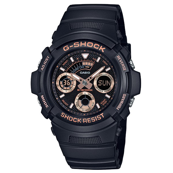 規格錶殼 / 錶圈材質:樹脂 / 鋁金屬樹脂錶帶Neobrite夜光塗料指針耐衝擊構造礦物玻璃LED燈(自動照明,可選擇照明時間1.5秒或3秒,餘暉設計) 防水200米世界時間29個時區(27個城市)