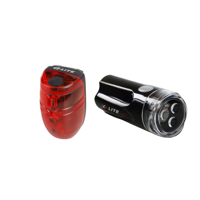 Q-LITE QL-261+262平價型前後燈組-專業品牌值得信賴(黑色)[03107555]