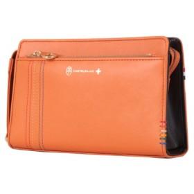 (Bag & Luggage SELECTION/カバンのセレクション)カステルバジャック シェスト セカンドバッグ ハンドバッグ 牛革 027221/ユニセックス オレンジ