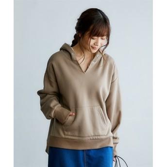 こっそり暖か裏ボアパーカー (トレーナー・スウェット)Sweatshirts