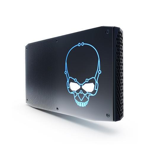NUC8i7HVK 採用可超頻的 i7-8809G 處理器,除了超頻與否,i7-8809G 有著 3.1 GHz 到 4.2 GHz Turbo 的加速時脈、8 MB cache 與 100W TDP