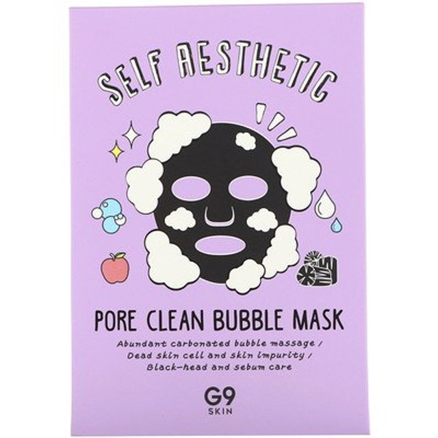 Self Aesthetic, Pore Clean Bubble Mask, 5 Masks, 0.78 fl oz (23 ml) Each