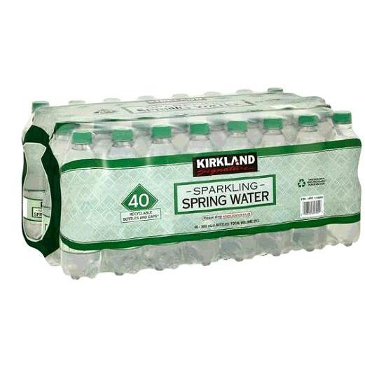 Kirkland Signature 科克蘭 氣泡水 500毫升 X 40瓶 W1130805