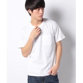 【40%OFF】 ナノ・ユニバース :AntiSoakedクルーネックTシャツ メンズ ホワイト XL 【nano・universe】 【セール開催中】