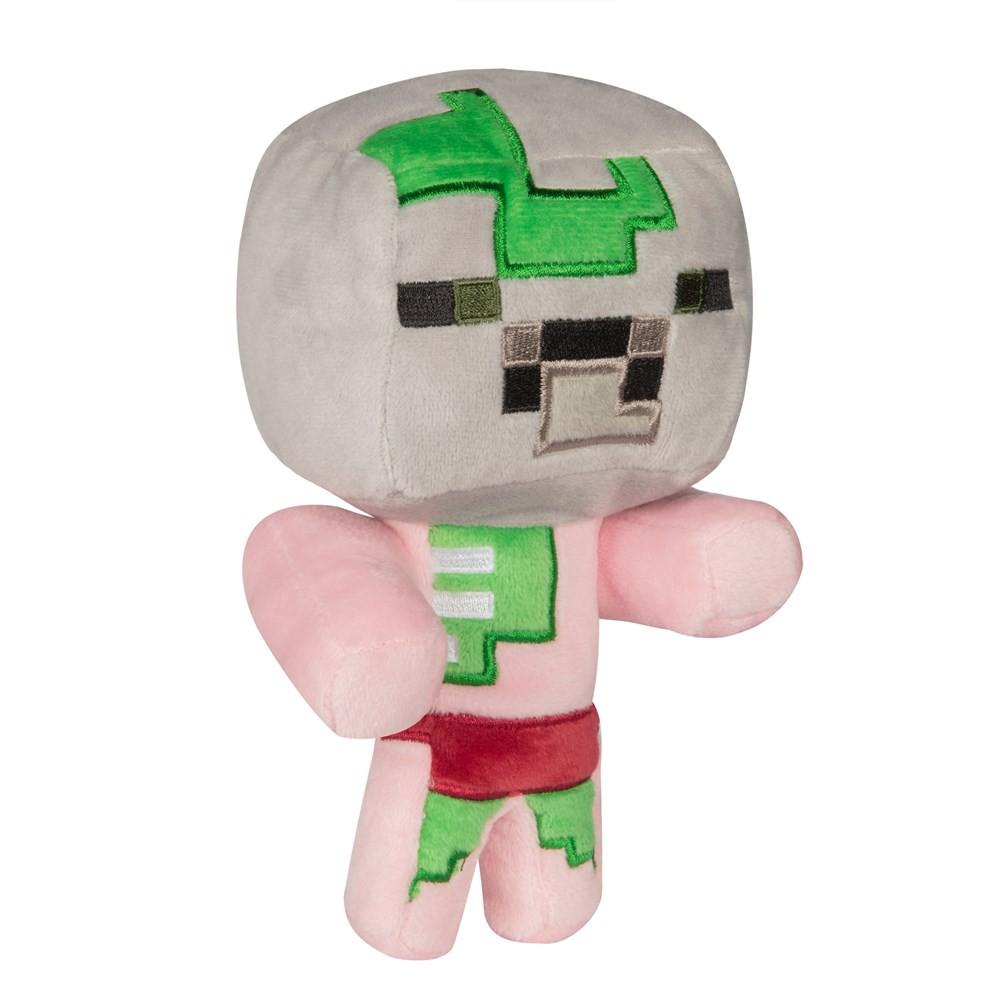 Minecraft 我的世界 麥塊 當個創世神 小殭屍豬人 絨毛娃娃 [美國公司貨] [現貨]
