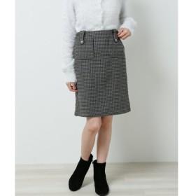 [マルイ] チェック柄台形スカート/レイカズン(RAY CASSIN)