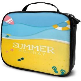 Daitu夏 化粧品袋の女性旅行バッグ収納大容量防水アクセサリー旅行