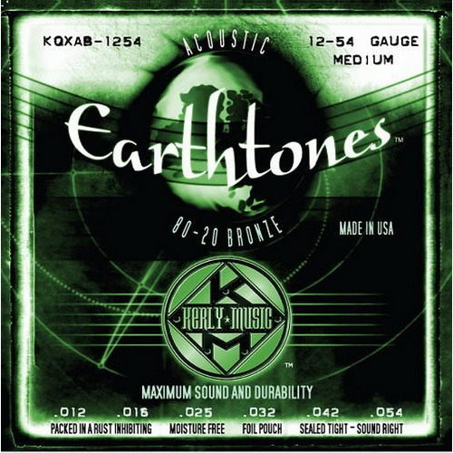 Kerly Strings Earthtones 系列冰火弦 KQXF-BZ-1254 (12-54) 80/20黃銅美
