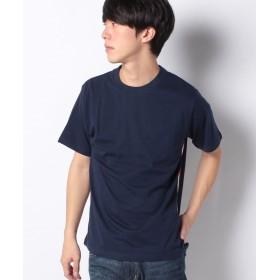 【60%OFF】 ナノ・ユニバース :オーガニックサイドテープTシャツSS メンズ ネイビー M 【nano・universe】 【セール開催中】
