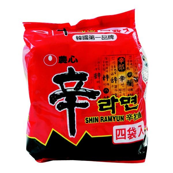 農心辛拉麵4入/組-韓國