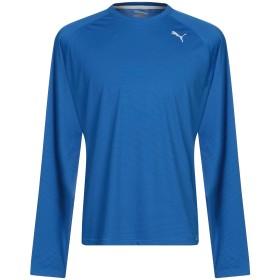 《セール開催中》PUMA メンズ T シャツ ブライトブルー S ポリエステル 100%