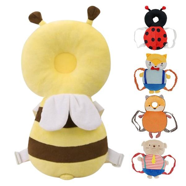寶寶頭部保護墊-學步護頸枕防撞墊 動物造型寶寶護頭枕 雪倫小舖【TAG0168】