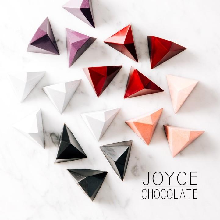 Joyce Chocolate 鏡面曜石巧克力禮盒 (9入/盒)