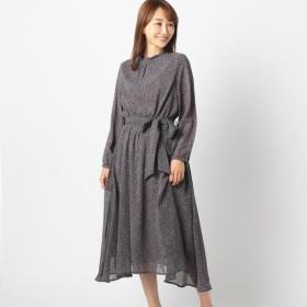 [マルイ] 小花柄長袖ワンピース/ミューズ リファインド クローズ(MEW'S REFINED CLOTHES)