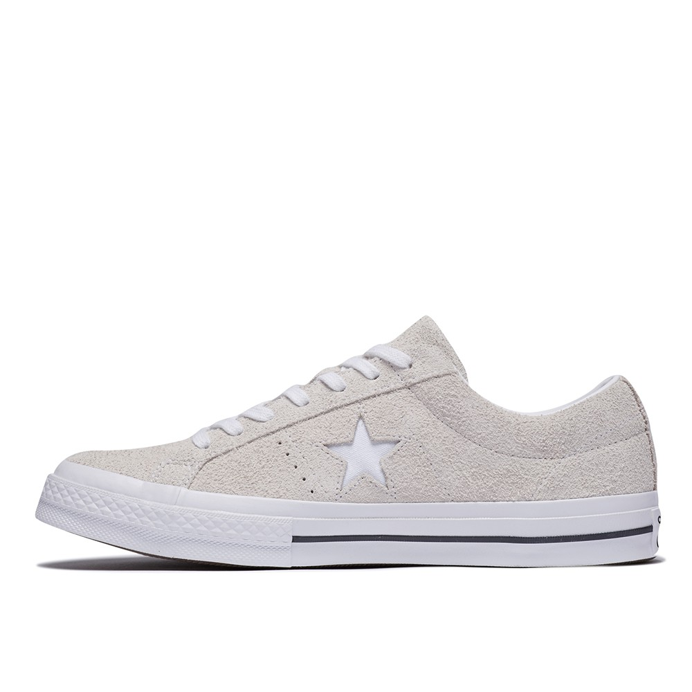 CONVERSE ONE STAR OX 男女休閒鞋 白 161577C