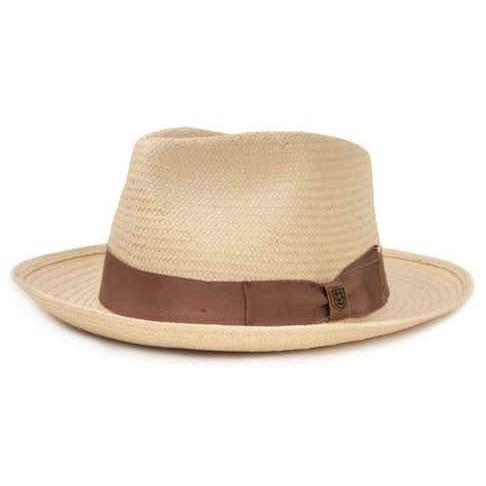 Brixton Presley Fedora Hat - TAN 編織帽