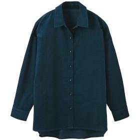 49%OFF【レディース】 コーデュロイゆるシルエットシャツ(綿100%) ■カラー:クラウドブルー ■サイズ:S,M,L