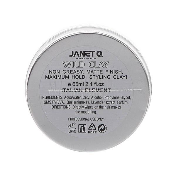 JANET Q 天下無敵造型系列 澤妮官狂亂蓬蓬土65ml wild clay【小三美日】D300509