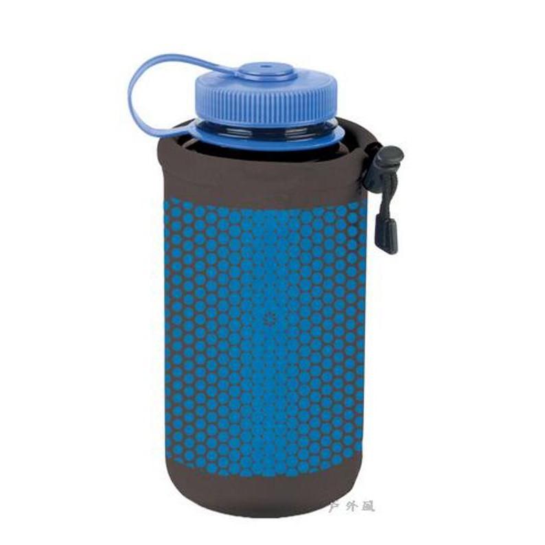 NALGENE 經典水壼套 黑/藍 (登山健行水壺套)