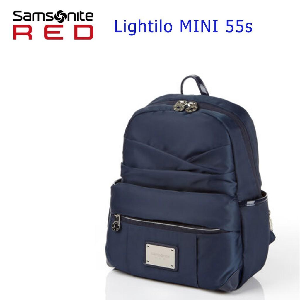 Samsonite RED 新秀麗 Lightilo MINI 55S 後背包S 休閒輕量 減壓背帶 背後隱藏式口袋