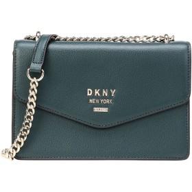 《期間限定セール開催中!》DKNY レディース メッセンジャーバッグ ディープジェード 牛革 100% WHITNEY-SMALL FLAP CROSSBODY
