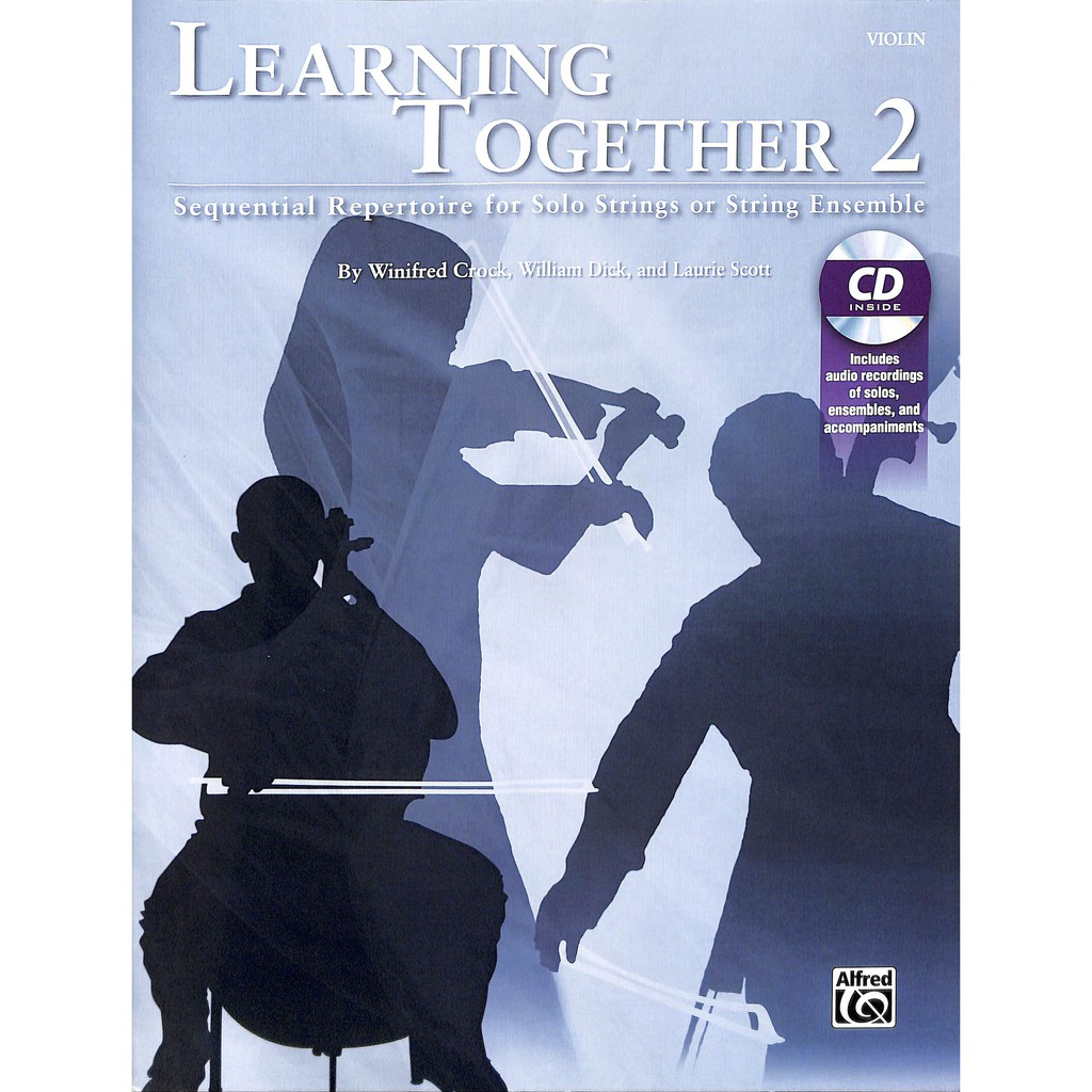 【Kaiyi music】Learning Together 2 Violin&CD