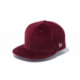 NEW ERA ニューエラ 9FIFTY コーデュロイ ワイン スナップバックキャップ アジャスタブル サイズ調整可能 ベースボールキャップ キャップ 帽子 メンズ レディース 57.7 - 61.5cm 12108883 NEWERA