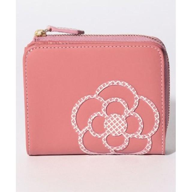 (CLATHAS/クレイサス(バッグ))ニナス 2つ折り財布/レディース ピンク