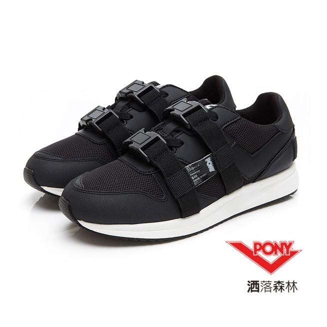 女性 復古慢跑鞋 TRIBECA- 不管是大人調的沉穩單色慢跑鞋,或是黑白鞋面增加綁帶搭扣設計,極有個性風格的潮流慢跑鞋!- 尺碼:M7-11- 材質:牛剖層移膜革/合成革/聚酯纖維#洒落森林 #PO