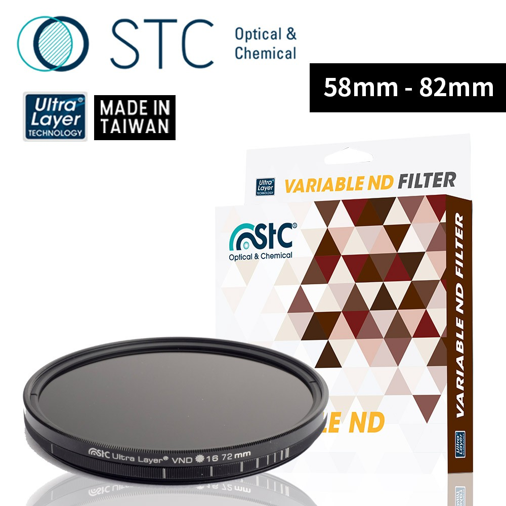 【STC】Variable ND16~4096 Filter可調式減光鏡58mm-82mm