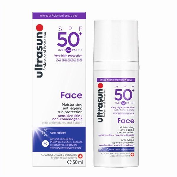 ultrasun 優佳 護顏修護防曬乳SPF50+ PA++++ (50ml/單罐)【杏一】