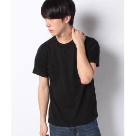 【60%OFF】 ナノ・ユニバース :クールマックスクルーTシャツSS メンズ ブラック M 【nano・universe】 【セール開催中】