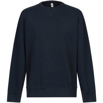 《セール開催中》IHES メンズ スウェットシャツ ダークブルー S コットン 100%